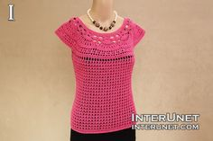 Summer Top - free pattern written for size s/m - scroll down to comments for instructions for a larger size