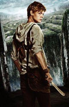 Thomas Brodie-Sangster in The Maze Runner Newt Maze Runner, Maze Runner Thomas, Maze Runner 2014, Maze Runner Movie, Maze Runner Characters, Maze Runner Funny, Thomas Brodie Sangster, Maze Runner Trilogy, Maze Runner Series