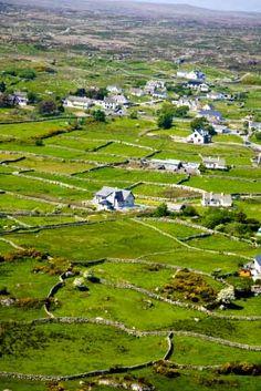 Aran Island - Ireland! Off the coast of Galway