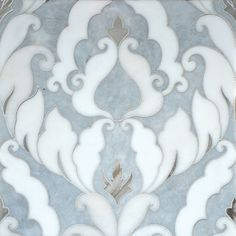 Fluid, arabesque, intertwining, lacework in stone and marble.The new TalyaT Collection consists of beautiful, fine mosaic artwork by Sara Baldwin, exclusively for Marble Systems. Sara and her prolific team, design, research and develop new designs using high technology water jet cutting, creating fluid and arabesque flowing lines in stone, inspired by Moorish decoration. Her breathtaking designs have gained international attention, and her new designs are being introduced by Marble Systems.