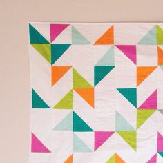 Another @shoppebyscoutmob quilt shipped to its new home this week! #confettiquilt #vkmade