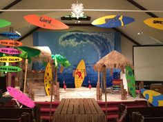 Welcome to Surf Shack at Sugar Creek Presbyterian Church. Thanks to Wendy Symonds Berkshire and team of leaders!! cokesburyvbs.com