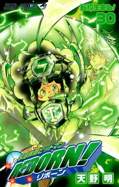 Katekyo Hitman Reborn Volume Cover 30