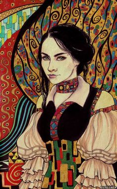 Want to discover art related to klimt? Check out inspiring examples of klimt artwork on DeviantArt, and get inspired by our community of talented artists. Gustav Klimt, Klimt Art, Art Challenge, Painting Inspiration, Sculpture Art, Deviantart, Fantasy Art, Cool Art, Art Photography