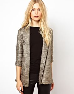 Enlarge River Island Oversized Blazer -- perfect for the holidays and going out