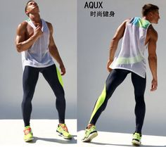 Amazing Workout Clothes Outfits to impress and progress - Outdoor Click Running Fashion, Sport Fashion, Fitness Fashion, Men Fashion, Gym Style, Mode Style, Running Style, Gym Outfit Men, Men Running Outfit