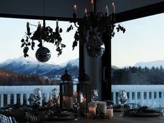 www.byrust.no/bloggwww.byrust.no/blogg  // New Year's Eve table Table Setting Inspiration, Scandinavian Style, New Years Eve, Elk, Rust, Wonderland, Table Settings, Modern, Moose