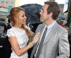 Blake Lively and Ryan Reynolds, too hot