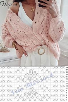 Hand Knitting, Diy And Crafts, Knits, Tops, Fashion, Wraps, Tricot, Moda, Fashion Styles