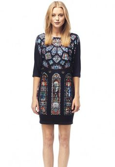Chatres - Printed T-shirt Dress