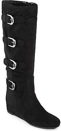 Studio Paolo® Ice Buckle Boots Black thestylecure.com