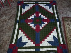 Ravelry: Project Gallery for Desert Star Crochet Quilt pattern by C.L. Halvorson