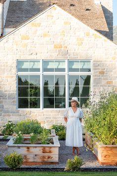 Outdoor Rooms, Outdoor Living, Outdoor Decor, Back Gardens, Outdoor Gardens, Estudio Mcgee, Lilac Tree, Home Modern, Garden Planning