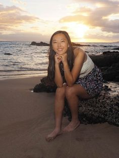 In today's world, senior portraits have gone beyond the standard headshot to allow for more environmental images; view more at:http://mauiislandportraits.com/family-pictures-senior-portrait-maui/
