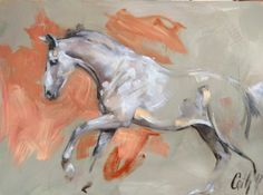 Oil sketch on panel 030217 Berlin x Ferro x Belisar / Cath Driessen