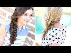 The Alternative Braid | With Guest TwistMePretty #CGHAlternativeBraid #Braid #fauxFishtailbraid #twists #hairstyles