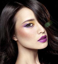 How To Wear Purple Lipstick (3)