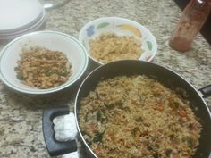 Noddle, Tofu, and Pork