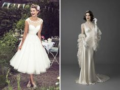 Vintage Bridal Wear - 34 Vintage Wedding Ideas You Can't Miss - EverAfterGuide