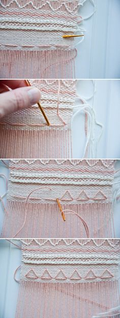 Weave Along || Part 7: Embroidering on a weave