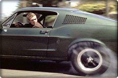 Steve McQueen 'Bullitt' burnout