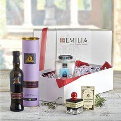 Geschenkbox Puro - Öl, Balsamico und Meersalz
