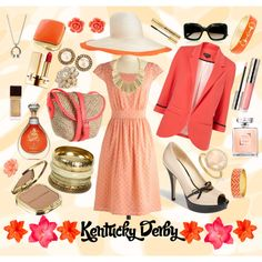 Kentucky Derby, created by htmaria on Polyvore