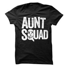 Aunt Squad Suicide Squad Themed T-Shirt Sibling Quotes, Baby Shower Gender Reveal, Great T Shirts, Aunt, Squad, Tee Shirts, Funny Shirts, Kids Fashion, My Style
