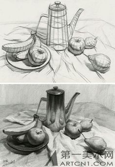 Dessin académique The Effective Pictures We Offer You About dessin croquis chat A quality picture ca Still Life Sketch, Still Life Drawing, Still Life Art, Basic Drawing, Drawing Skills, Drawing Techniques, Charcoal Drawing, Pencil Art Drawings, Art Drawings Sketches