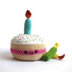 Birthday Cake Crochet Pattern