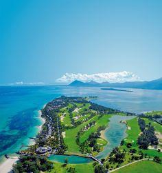 golf course Mauritius Le Paradis