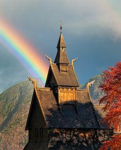 rainbow in Norway
