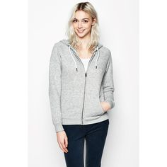 Jack Wills Glendale Hoodie ($86) ❤ liked on Polyvore featuring tops, hoodies, hooded sweatshirt, white hooded sweatshirt, zip front hoodie, drawstring hoodie and zip front hoodies
