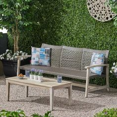 Outdoor Sofa Sets, Outdoor Lounge, Outdoor Decor, Outdoor Spaces, Outdoor Living, Outdoor Furniture, Sofa Frame, Wicker Sofa, Sofa Seats