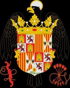 ESCUDO de los Reyes Católicos (1469-1516).