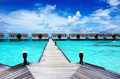Welcome to paradise: the Maldives