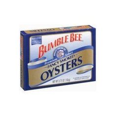 Bumble Bee Fancy Smoked Oysters (2 Pack) -- Wow! I love this. Check it out now! : Easy Dinner Meals
