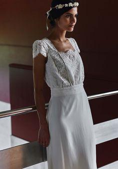 Robe de mariée Laure de Sagazan 2018