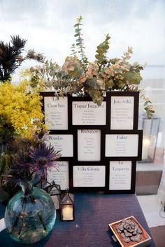 meseros enmarcados en negro boda asturias