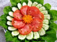 Cum să tai legumele pentru a încânta oaspeții - urmăriți ideile de aranjare a celor mai frumoase platouri! - Bucatarul