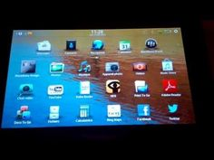 Tuto installer des applications Android sur tablette blackberry playbook  #android #applications #blackberry