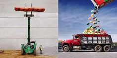 Liking these: Mashups of small and big objects #photography