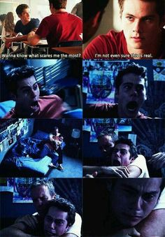 Teen Wolf - Stiles -- This whole thing just broke my heart. I hate seeing Stiles in pain like this, he's my favorite character and I don't ever want anything bad to happen to him. Props to Dylan though he did an amazing job in this episode with the whole losing his mind thing.