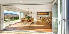 Bifold Doors: Aluminium and Timber (Natura Range) Glass Walls, Skylights, Indoor, Outdoor Decor, Deck, Range, Home Decor, Interior, Cookers