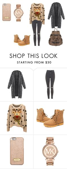 """Fashion"" by soni09 ❤ liked on Polyvore featuring Topshop, MICHAEL Michael Kors, Michael Kors and Wilsons Leather"