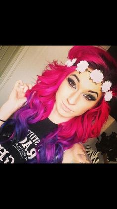 Shes gorgeous love her hair