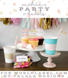 Printable   Party Labels