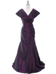 Vintage Taffeta Evening Dress | Sung Boutique L.A.