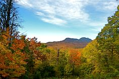 a view of Grandfather Mtn