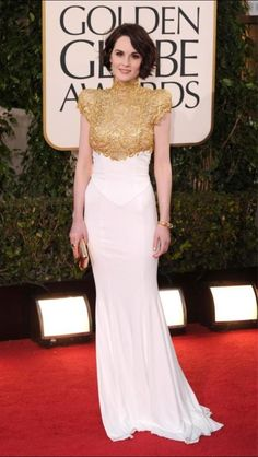 Michelle Dockery Emmy Watch: See 'Downton Abbey' Star's Best Red Carpet Gowns [SLIDESHOW] - Entertainment & Stars